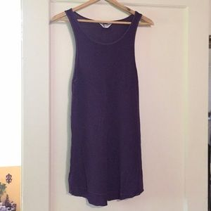 Cute purple tank or coverup by Hardtail Yoga